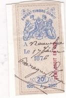 T.F. Effets De Commerce N°184 - Revenue Stamps