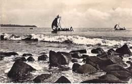 AFRIQUE NOIRE - COTE D'IVOIRE - SASSANDRA : Retour De La Pêche - CPSM Dentelée Noir Blanc Format CPA - Black Africa - Ivory Coast