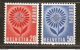 Zu 410-411 / Mi 800-801 / YT 735-736 EUROPA 1964 Série Complète ** / MNH Voir Description - Suisse