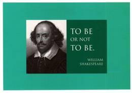 CPM - WILLIAM SHAKESPEARE - Edition Hazan - Escritores