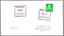 Segundo Congreso Mundial Del COI De Ciencias Del Deporte - 2th IOC World Congress On Sport Sciences. Barcelona 1991 - Juegos Olímpicos
