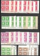 T 00601 - France, 27 Coins Datés TOUS DIFFERENTS Du Cérès De Mazelin - Dated Corners