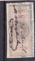 T.F. Effets De Commerce N°89 - Revenue Stamps