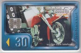 ESTONIA 1997 TELEPHONE STORE MOTORCYCLE - Motorbikes