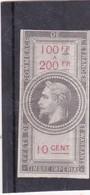 T.F. Effets De Commerce N°27 Neuf - Revenue Stamps