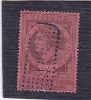 T.F. De Quittances N°10 - Revenue Stamps