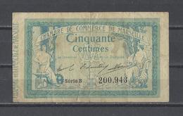 Chambre De Commerce De MARSEILLE  Billet De 50c - Chambre De Commerce