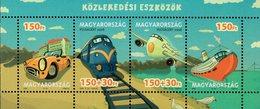 Hungary - 2008 - Transportation In Hungary - Mint Souvenir Sheet - Hungary