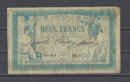 Chambre De Commerce De MARSEILLE  Billet De 2.00F - Chamber Of Commerce