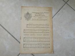 Couronnement Du Roi Édouard VII Et La Reine Alexandra, Le Sacre 1902 -(Musique & Paroles)- Partition (Piano) - Instruments à Clavier