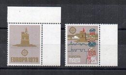 Malta - 1979 - Europa - 2 Valori Con Bordo Di Foglio - Nuovi - Vedi Foto - (FDC15605) - Malta
