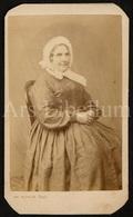 Photo-carte De Visite / CDV / Femme / Woman / Photographe Em. Dufour / Dijon / France / 2 Scans - Oud (voor 1900)