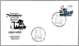 Centenario Del TERREMOTO De BENAVENTE - PORTUGAL. Earthquake Centennial. 2009 - Geología