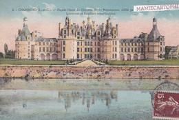 Château De CHAMBORD - Dépt 41 - Façade Ouest - Lanternes Et Escaliers Remarquables - Chambord