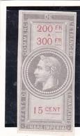 T.F. Effets De Commerce N°28 Neuf - Revenue Stamps