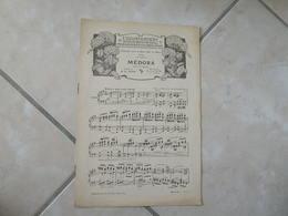 Médora -(Musique Raymond Pech)- Partition (Piano) - Instruments à Clavier