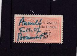 T.F. De Quittances N°25 - Revenue Stamps