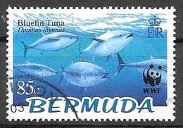 2004 85 Cents WWF Bluefish Tuna, Used - Bermuda