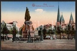Postkaart / Postcard / CPA / Gent / Gand / Denkbeeld Van J. Van Artevelde / Unused / 2 Scans - Gent