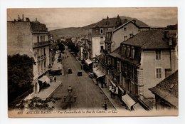 - CPA AIX-LES-BAINS (73) - Vue D'ensemble De La Rue De Genève (belle Animation) - Editions Lévy 187 - - Aix Les Bains