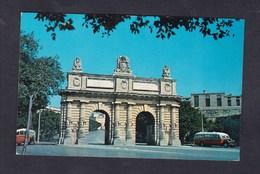 Malte Malta Porte Des Bombes ( Autobus ) - Malta