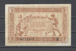 TRESORERIE AUX ARMEES  Billet De 1.00F - Treasury
