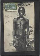 CPA Congo Ethnic Afrique Noire Type Circulé Tatouages Scarification - Congo Français - Autres