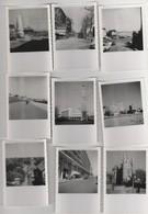 9 PHOTO (8.5x6 Cm) LE HAVRE (76) VISITE EN JUILLET 1956 - Other