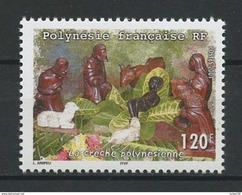 Polynésie Française  2001   Fleurs  Cat Yt     N° 655    N** MNH - French Polynesia