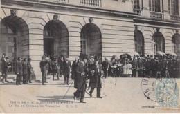 EVENEMENT Réception Event ESPANA Espagne - Visite De S.M. ALPHONSE XIII à PARIS - Le Roi Au Chateau De VERSAILLES - CPA - Receptions