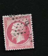 N°  32 Napoléon III  Belle Couleur ,bon état , Côte 32€ - 1863-1870 Napoleon III With Laurels