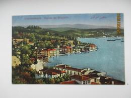TURKEY   CONSTANTINOPLE BEYCOS AU BOSPHORE , OLD POSTCARD   , O - Turkey