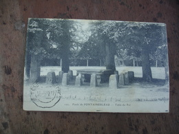1919 Telegraphie Militaire Cachet Franchise Postale Militaire Fontainebleau 1919 - Postmark Collection (Covers)