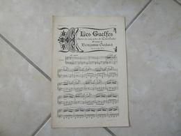 Les Guelfes - La Fille Du Calife & Petite Sérénade(Musique B Godard - E. Lacheurié & M. Teste )- Partition (Piano) - Instruments à Clavier