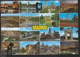 SPAGNA - MADRID - VIAGGIATA VIA AEREA 1980 - Madrid