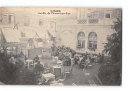 CPA 35 Dinard Jardin De L'American Bar - Dinard