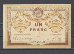 Chambre De Commerce De DIEPPE  Billet De 1.00F - Chamber Of Commerce