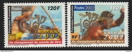 Polynésie Française  2002    Cat Yt     N° 661, 662    N** MNH - French Polynesia