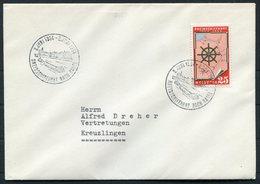 1954 Switzerland Rheinschiffahrt Nach Basel Cover - Switzerland