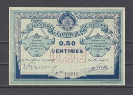 Chambre De Commerce De DIEPPE  Billet De 50c - Cámara De Comercio