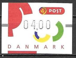 Denmark Danmark Dänemark 1995 ATM Franking Labels Vignettes D'Affranchissement Michel No. 3 MNH Mint Neuf Postfrisch ** - ATM/Frama Labels