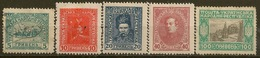 UKRAINE - Lot De5 Timbres - Yvert : 137-138-140-142-146 - Stamps