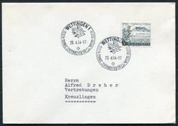 1954 Switzerland Wettingen Schweiz. Zentralfeier Für P.A.Zwyssig.cover. Pro Patria Music - Switzerland