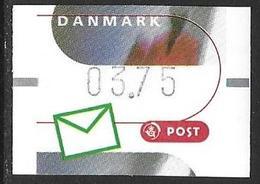 Denmark Danmark Dänemark 2000 ATM Franking Labels Vignettes D'Affranchissement Michel No. 11 3,75 MNH Neuf Postfrisch ** - ATM/Frama Labels
