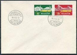 1955 Switzerland Conférence à Quatre Palais Des Nations Genève Cover - Switzerland