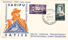 AFRIQUE DU SUD RSA 1952 FDC SADIPU - FDC