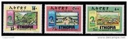 (326) Ethiopia / Ethiopie  Republic Jubilee / 1989 / Rare / Scarce  ** / Mnh  Michel 1344-46 - Ethiopia