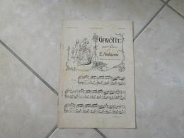 Gavotte - Vieille Chanson Dauphinoise & Page Triste(Musique Eugène Anthiome - V. Loret & L. Régel )- Partition (Piano) - Instruments à Clavier