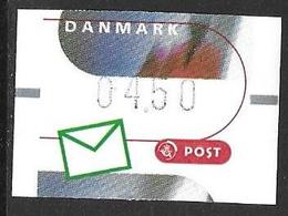 Denmark Danmark Dänemark 2000 ATM Franking Labels Vignettes D'Affranchissement Michel No. 11 4,50 MNH Neuf Postfrisch ** - ATM/Frama Labels