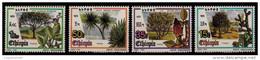 (349) Ethiopia / Ethiopie  Flora / Plants / Trees / Arbres / Bäume / 1993   ** / Mnh  Michel 1447/50 - Ethiopia